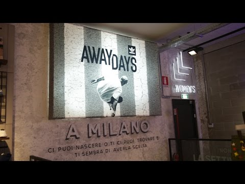 adidas AWAY DAYS Milan premiere