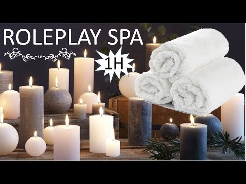 {ASMR} 1H ROLEPLAY SPA * 100% détente relaxation dormir * multidéclencheurs