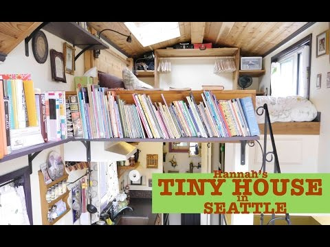 "Seattle Woman builds/designs her own Tiny House ""Pocket Mansion"""