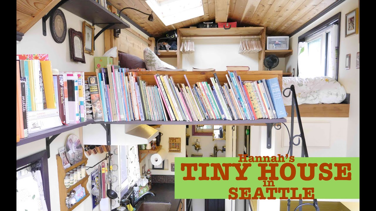 Seattle Woman buildsdesigns her own Tiny House Pocket Mansion