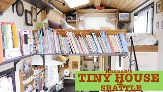 """Seattle Woman builds/designs her own Tiny House """"Pocket Mansion"""""""