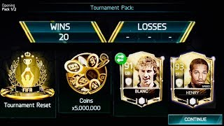 20 WINS, ZERO LOSSES icons Rewards -Best Tournament Gameplay in fifa mobile