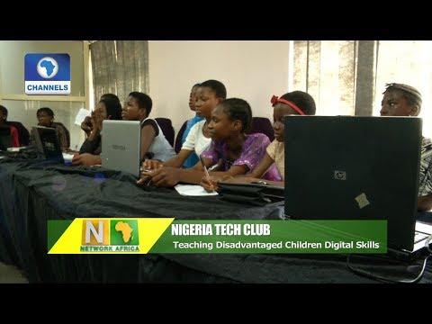 Teaching Disadvantaged Children Digital Skills  Network Africa 