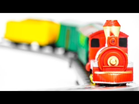 Awesome Train with Railway on the Remote Control Toys VIDEO FOR CHILDREN