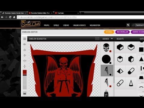 Rockstar Emblem Editor Transparenz