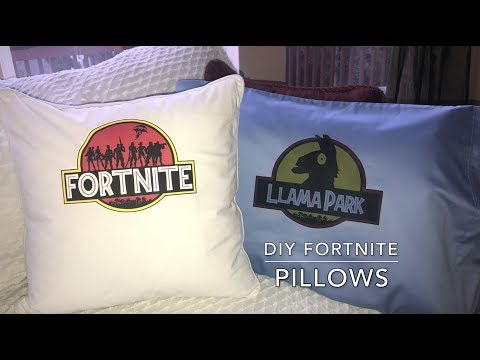 How To Make Fortnite Battle Royale Pillows