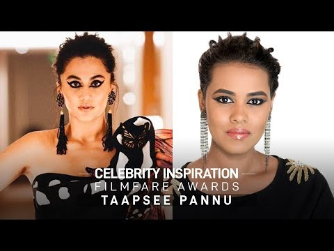 Celebrity Inspiration: Taapsee Pannu | Filmfare Awards