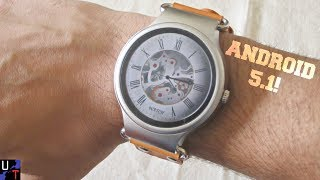 KINGWEAR KW98 Cheap Android Smartwatch Unboxing & 1st Impressions!