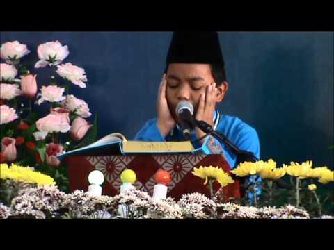 KBMA Johan Qari Majlis Tilawah Al-Quran Sekolah-sekolah Peringkat Kebangsaan tahun 2014