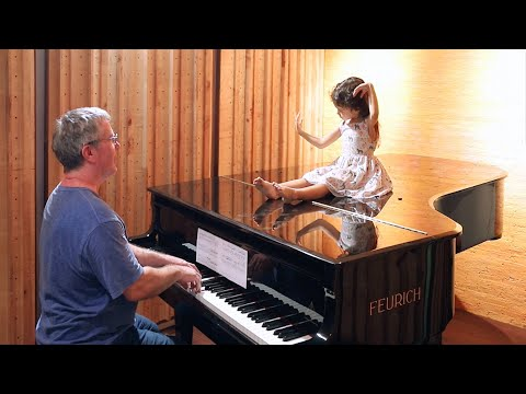 Daddy-Daughter 20 Piano Moments - Baby to 5-Years-Old