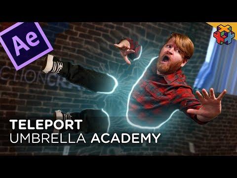 Teleportation Effect Tutorial (Umbrella Academy)