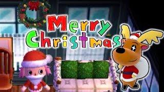 【#キアリス村】メリークリスマス☆ジングルとイブの夜【とびだせどうぶつの森amiibo+】