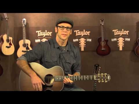 NAMM 2016 - Taylor 500 Series and 322 12-fret model