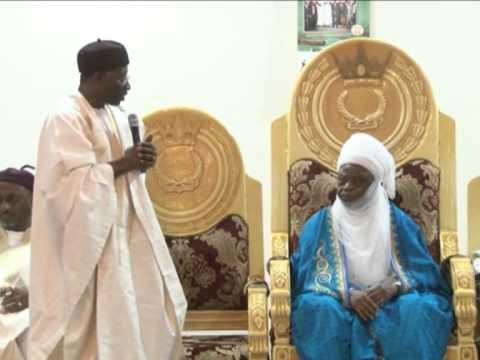President Jonathan visits Lamido of Adamawa