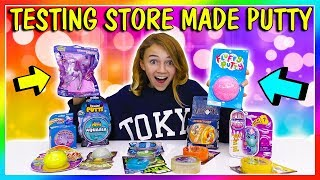 TESTING STORE MADE PUTTY HAUL   Stash or Trash   We Are The Davises