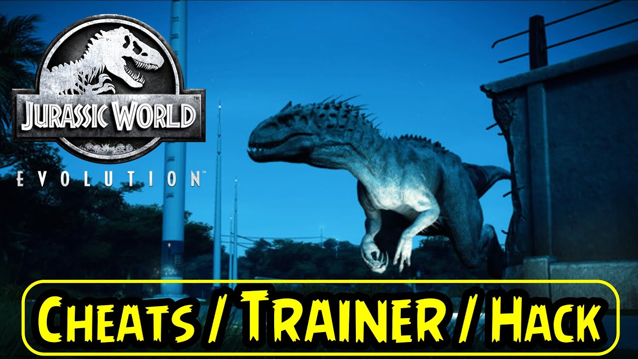 Jurassic World Evolution Trainer