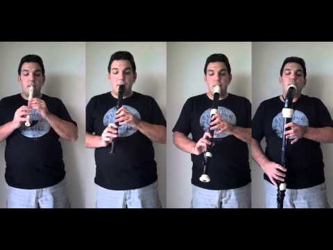The Beatles - Yesterday - Recorder Quartet - by Orlan Charles