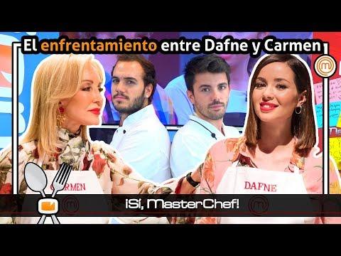 El enfrentamiento entre Carmen Lomana y Dafne Fernández  ¡Sí, MasterChef!