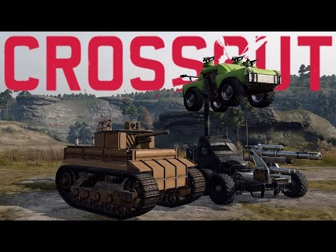 Crossout Best Creations - Tiger Tank, Sledge Hammer, 2 Vehicles in 1! (Crossout Gameplay)
