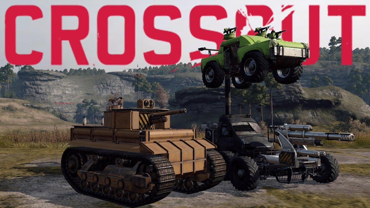 Crossout Best Creations - Tiger Tank, Sledge Hammer, 2 ...