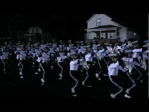 Michigan State University (MSU) Marching bands entrance @ Grand Ledge, MI