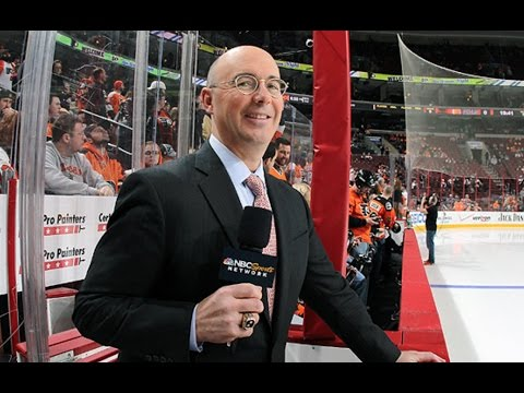Top 10 Times Pierre McGuire Was Weird AF