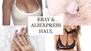 EBAY & ALIEXPRESS HAUL! UNDER £3/$3