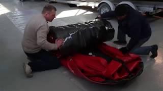 Видео-инструкция по правильному сворачиванию и упаковке лодок SOLAR !