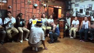 Mestre Pernalonga e Instrutor Duende-Capoeira angola
