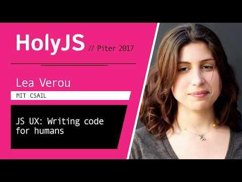 Lea Verou — JS UX: Writing code for humans