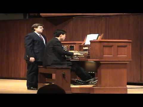 HD Glorius Things of Thee are Spoken - GERMAN HYMN - John Hong Pipe Organ
