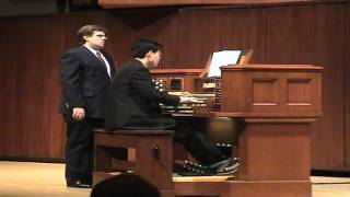 HD Glorius Things of Thee are Spoken - GERMAN HYMN - John Hong Pipe Organ
