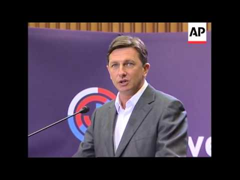 Opp just ahead in vote, Jansa acknowledges Pahor prob form new Cabinet