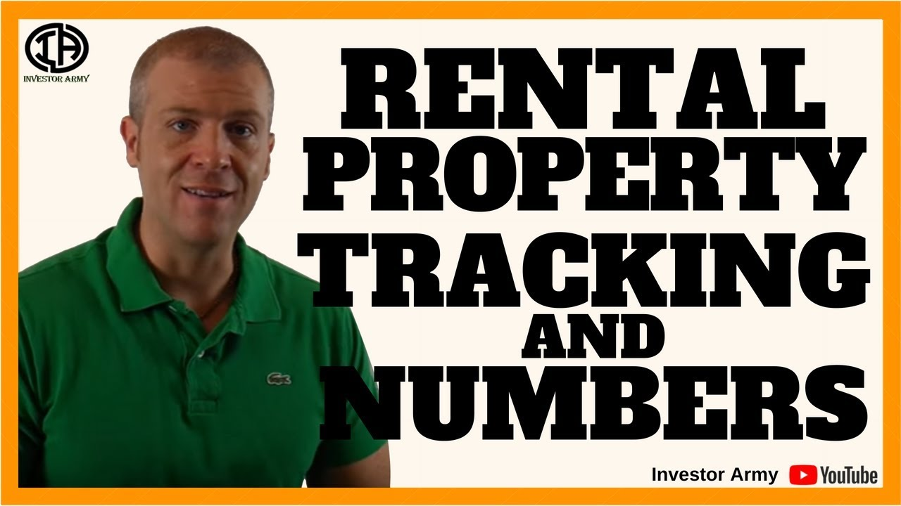 Rental Property Tracking and Numbers