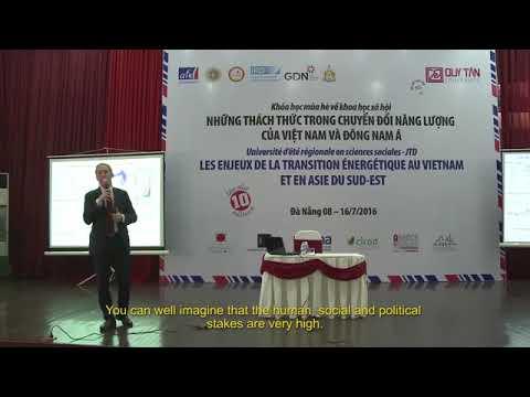 Gaël Giraud : Energie, climat et prospérité - Juillet 2016