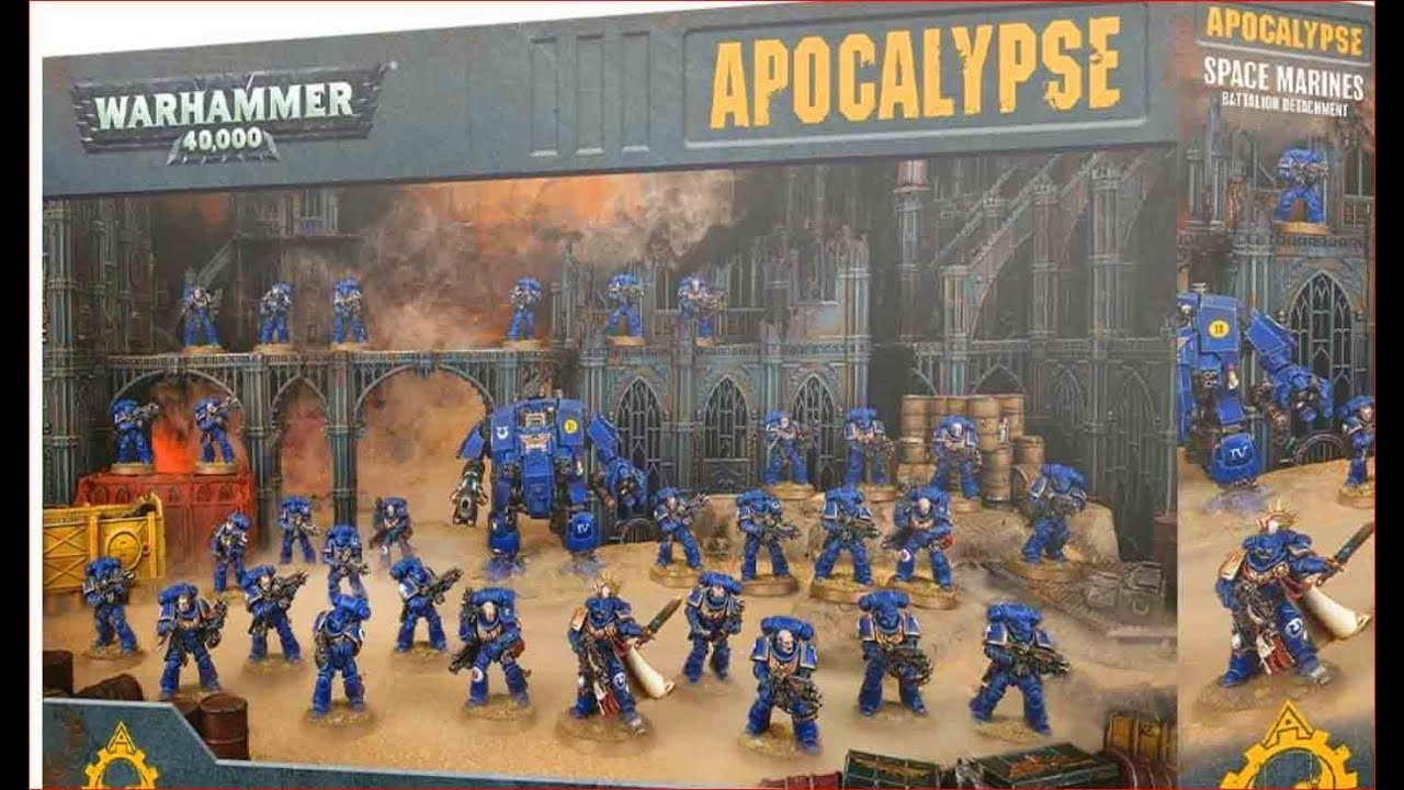 Which NEW Apocalypse box should you buy? Warhammer 40k 8th Edition 2019
