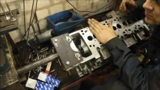 WV TRANSPORTER T-5 2.5 AXD Капитальный ремонт не ремонтируемого  двигателя