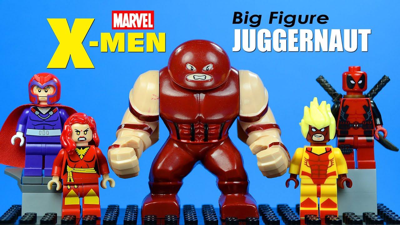 Juggernaut Figure Marvel DC For Custom Lego Minifigure Big Minifigures