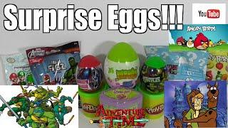 Giant Slime Surprise Egg Mario Ninja Turtles Angry Birds