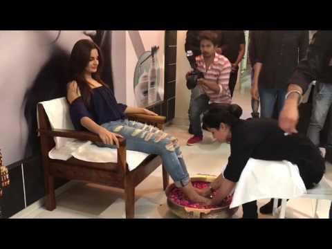 Monica Bedi Visited Spa Rajasthan