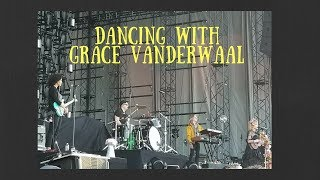 Dancing with Grace Vanderwaal (and her band) at Imagine Dragons: Evolve concert