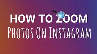 How to Zoom Photos on Instagram! 🔎 Hidden Instagram Features Revealed!