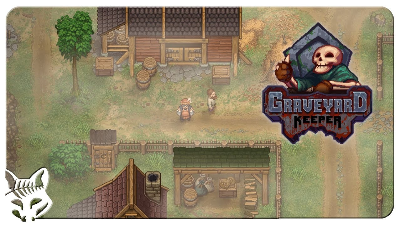 Meeting the Merchant! | Graveyard Keeper Gameplay | Let's Play ...