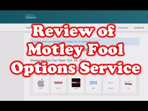 Review of Motley Fool - Options Service