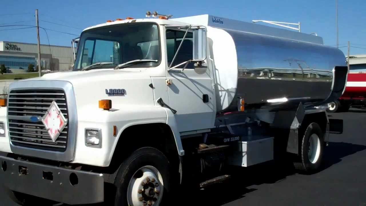 fuel truck for sale 1994 ford l8000 with 2700x1 aluminum tank stock 949460 [ 1280 x 720 Pixel ]
