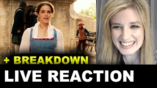 Beauty and the Beast Belle Clip REACTION