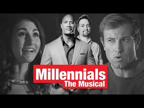 """Lin-Manuel Miranda & Dwayne """"The Rock"""" Johnson Present """"Millennials: The Musical"""""""