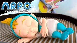 ARPO The Robot For All Kids | Daniel's New Bed | Full Episode Compilation | Cartoon for Kids