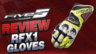 Five RFX1 Gloves Review | Sportbike Track Gear