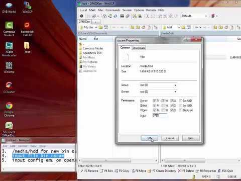 how to easy install emu oscam on image openATV 6 0 DM800se